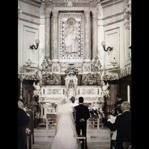 Dresses - White silk sweetheart wedding dress with wrap...